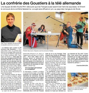 article concours saucisse Ouest-France